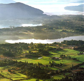 The Cowichan Valley Photo from the cover of Harrowsmith Country Life magazine, April 2004